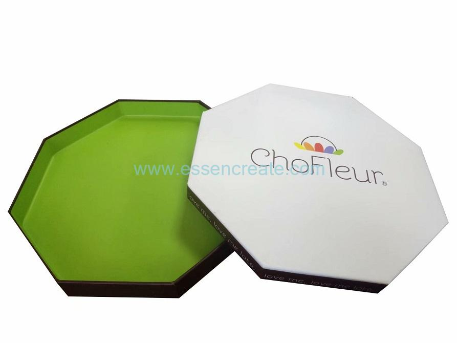 Single Tier Octagonal Eight Sides Chocolate Gift Box