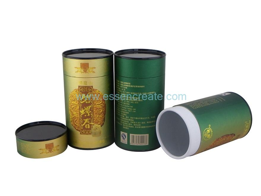 Rolled Edge Tube with Tin Lid