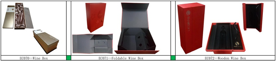 Glass Bottle Packaging Box