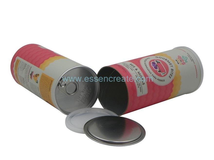 Airtight Paper Cans with EOE Lid