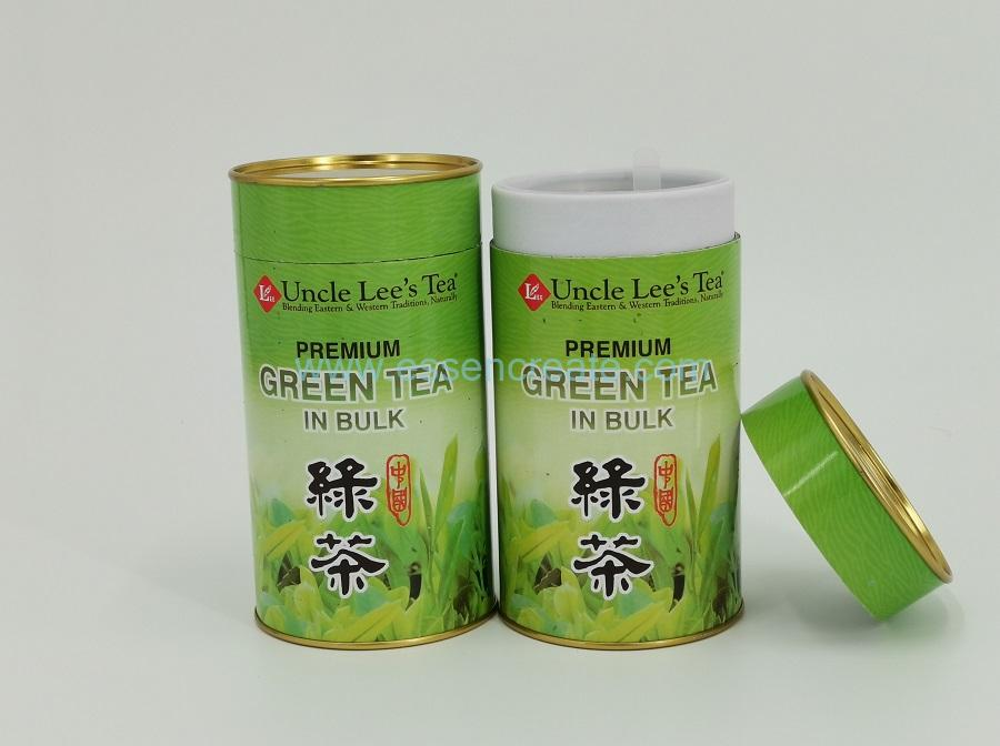 Tea Can with Double Lids