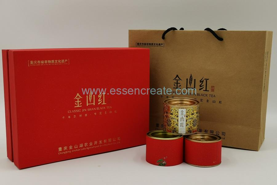 Composite Tea Packaging Cans with Box and Bag