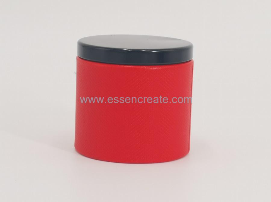 Curled Edge Packaging Canister