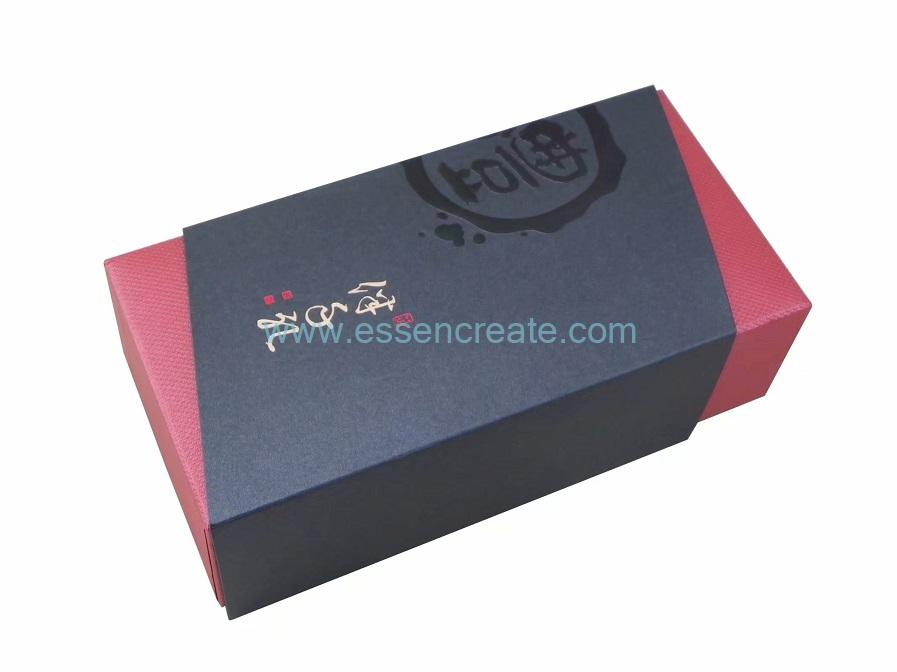 Lid and Base Tea Packing Square Cover Box