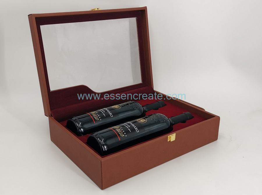 Leather Case Box for Jewellery Storage