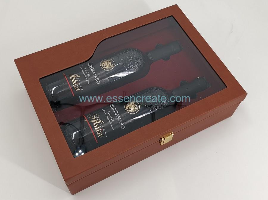 Cosmetic Packing Leather PU Box