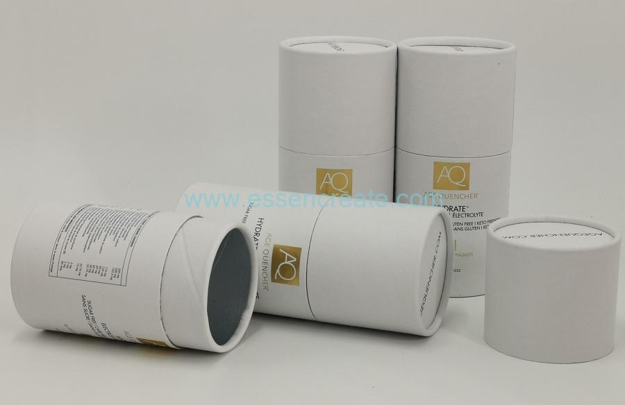 Food Packing Cylinder Tube Box