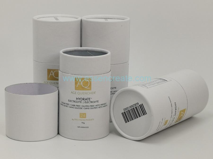 Degradable Tube Round Box