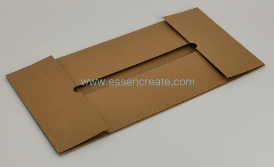 Collapsible Kraft Rigid Cardboard Tray