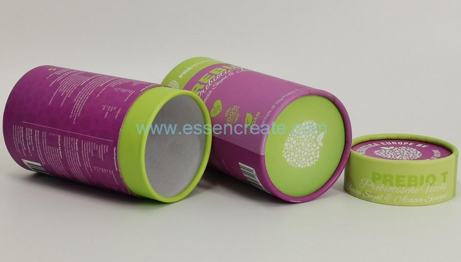 Round Kraft Paper Canister
