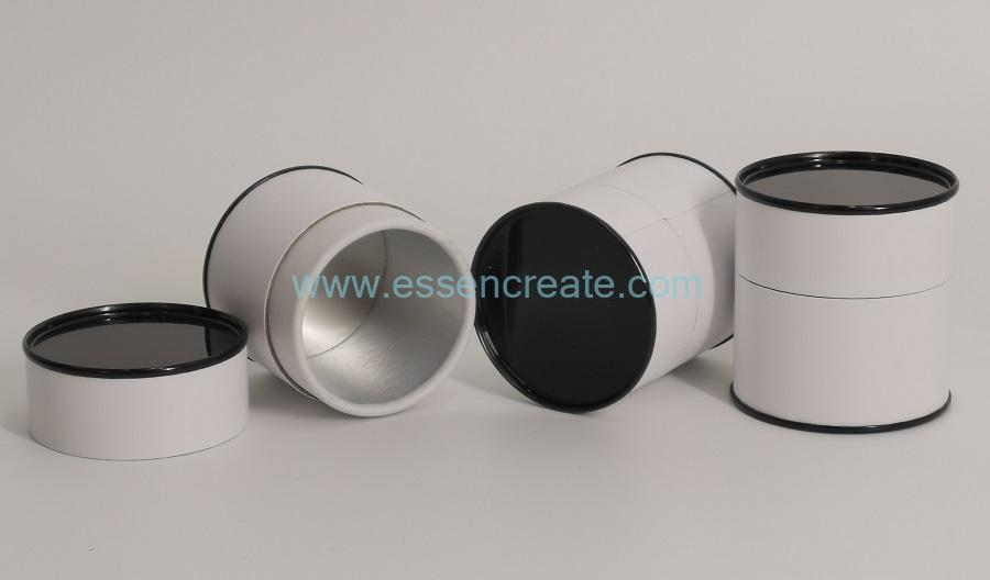 Paper Tube with Black Tin