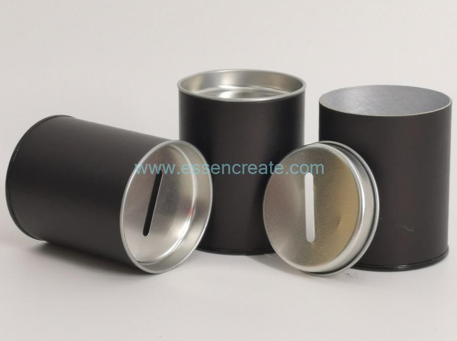 Round Canister for Money Packaging