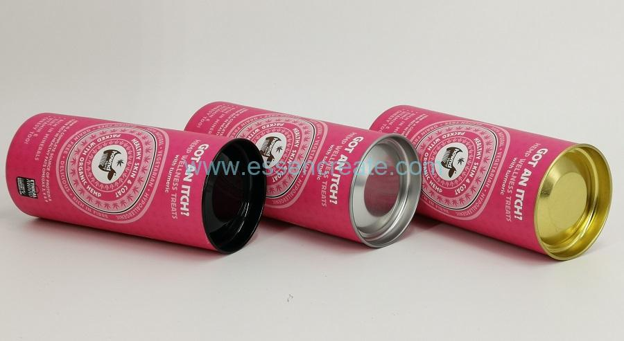 Health Food Packaging Paper Cans
