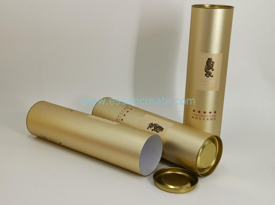 Cylinder Wine Packaging Tube