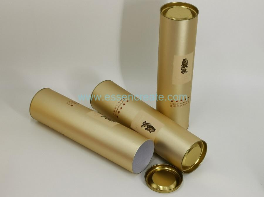 Luxury Wine Packaging Tube