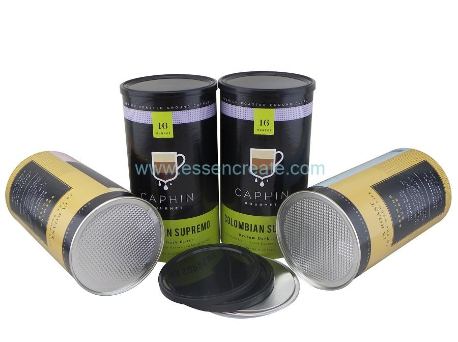Packaging Food Grade Paper Tube Can Box