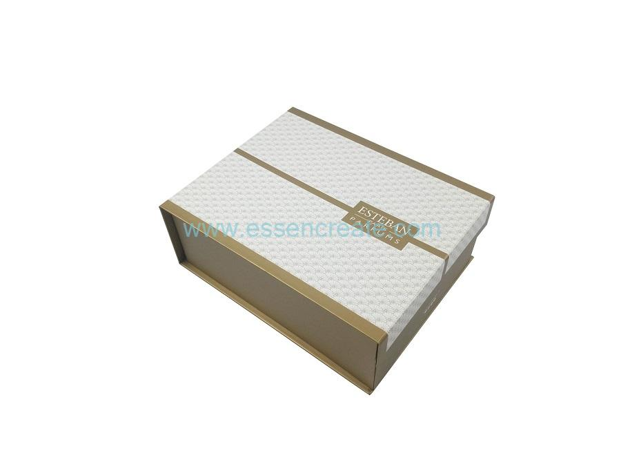 Flip Type Collapsible Perfume Packaging Paper Gift Box