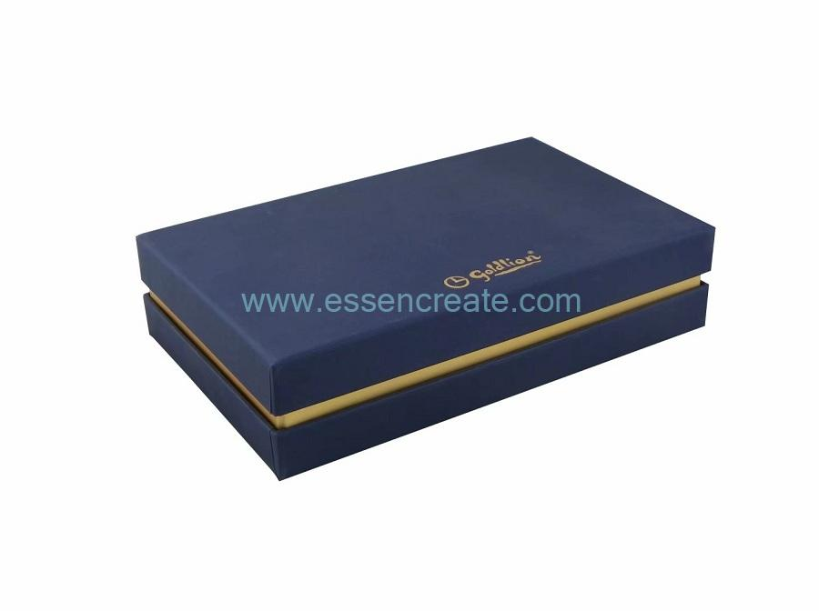 Rigid Box with Card Divider
