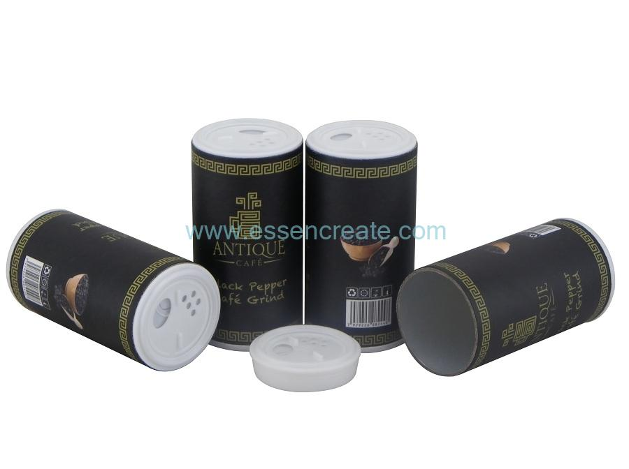Paper Pakistan Black Pepper Shaker Shifter Packing Tube