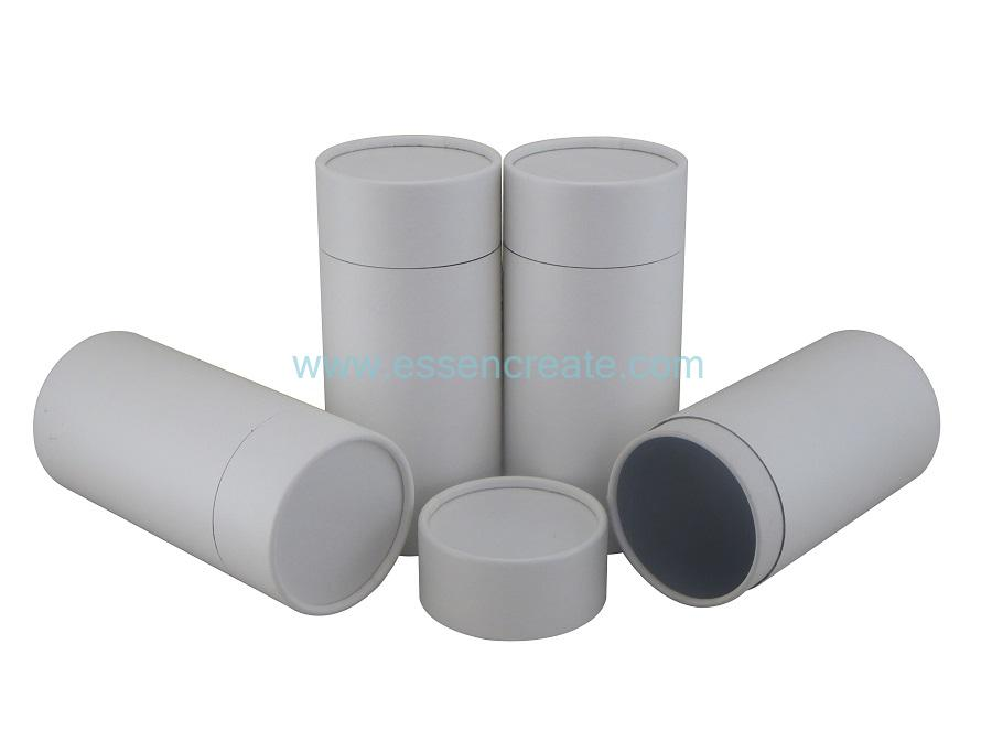 Foil Liner White Kraft Rolled Edge Paper Tube