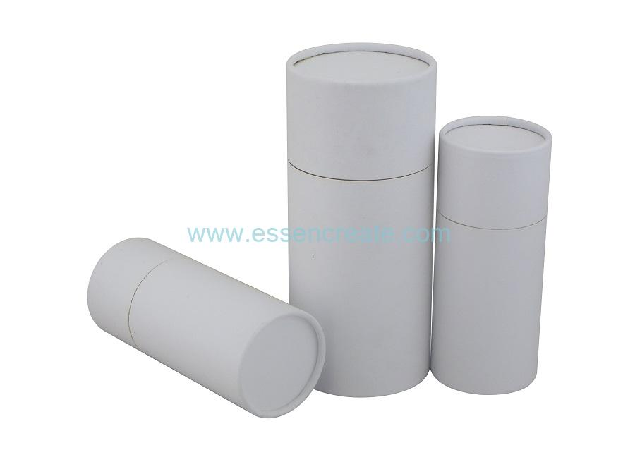 White Paper Tube Packaging