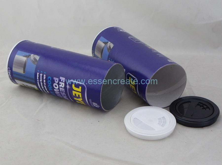 Cleaner Packaging Shaker Paper Tube