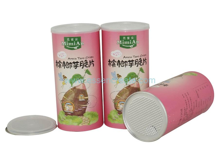 Dried Food Packaging Tube Paper Composite Airtight Canister