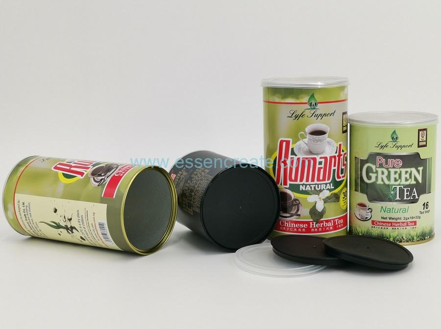 Custom Paper Tea Cans