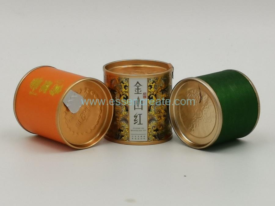 Aluminum Foil Easy Peel Off Paper Tea Tube