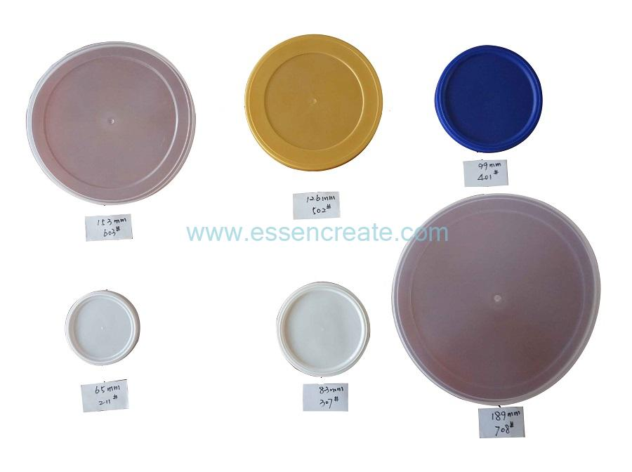 Plastic Lids For All Kinds of Paper Cans