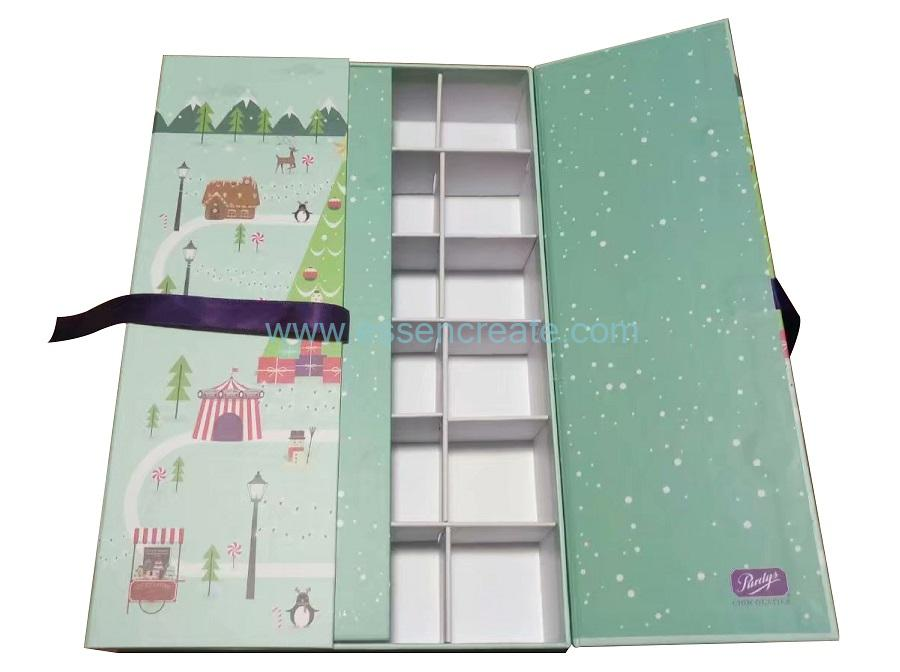 Gift Box with 24 Divider Grids