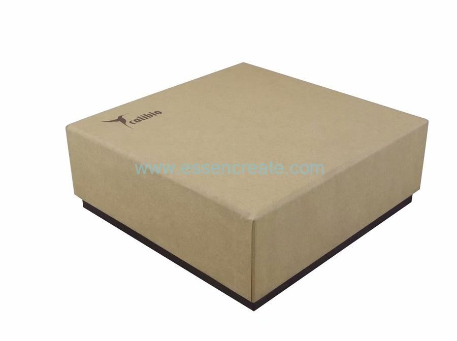 Brown Kraft Perfume Gift Packaging Cardboard Paper Box