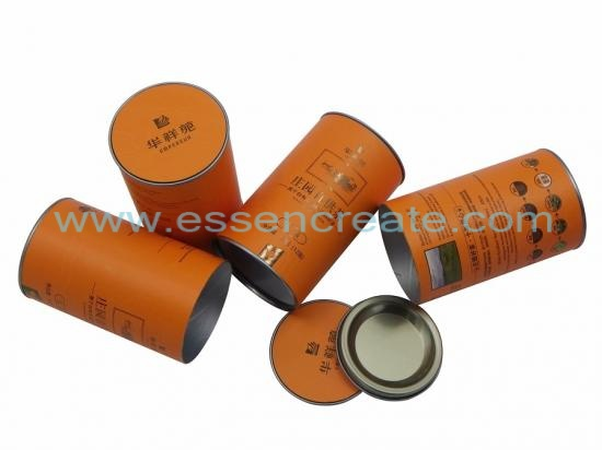 Tea Packaging Paper Cans