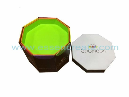 Four Tier Octagonal Foldable Chocolate Box