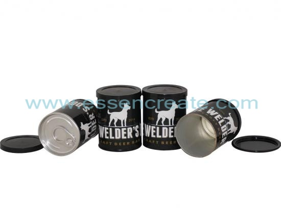 Dog Food Paper Packaging Canister