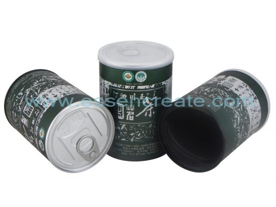 Tea Paper Cans with EOE