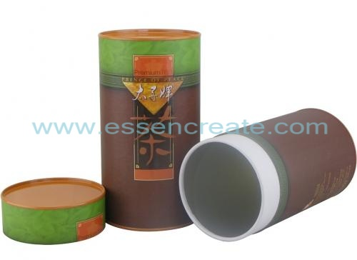 Tea Paper Packaging Canister