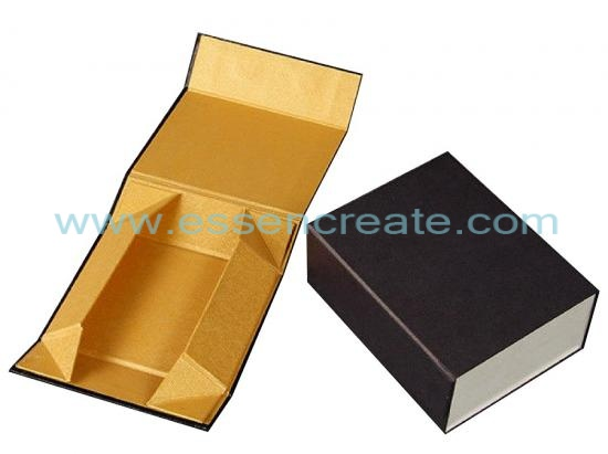Collapsible Bookshaped Magnetic Gift Box