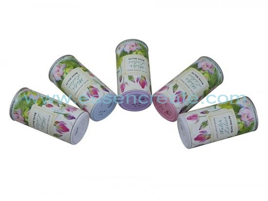 Bath Salt Packaging Shaker Paper Tube