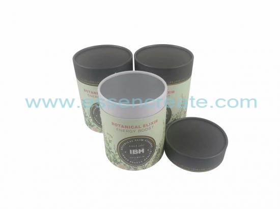 Powder Packaging Round Tube Rolled Edge