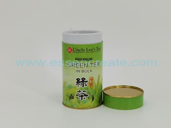 Green Tea Packaging Round Box