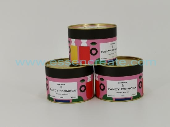Scented Tea Packing Tube Box