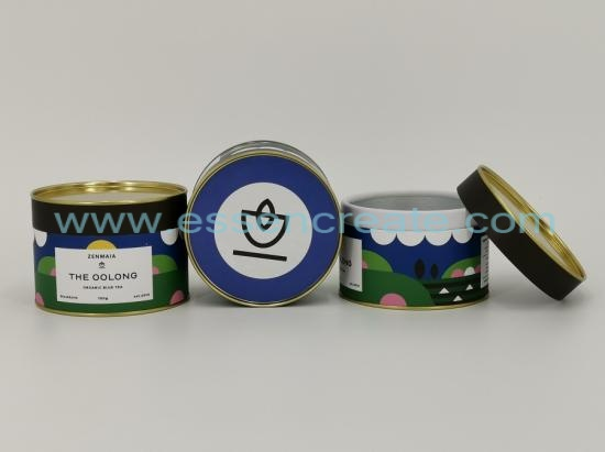 Food Grade Oolong Tea Packaging Canister