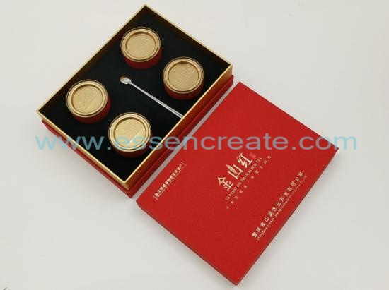 Tea Packaging Cans with Box