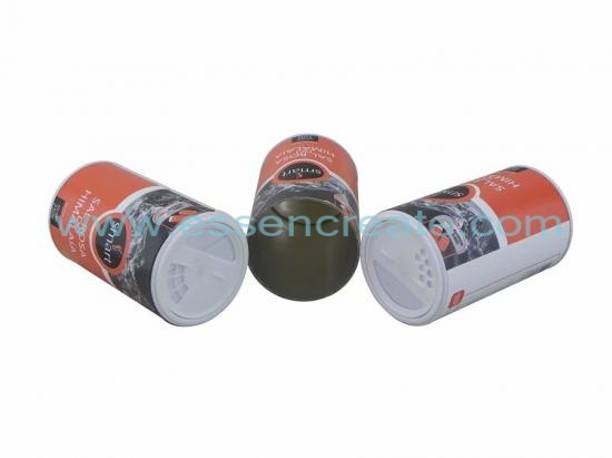 Shaker Top Food Grade Salt Paper Tube