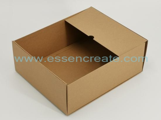 Foldable Two Pieces Kraft Rigid Box