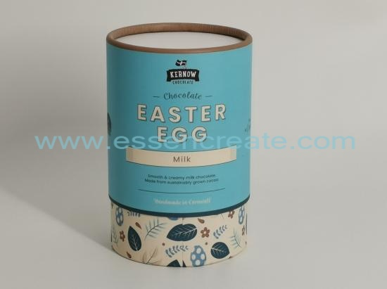 Milk Chocolate Packaging Round Tube Box