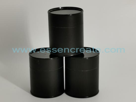 Composite Black Metal Lid Paper Cans