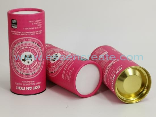 Pet Health Products Packaging Paper Tube