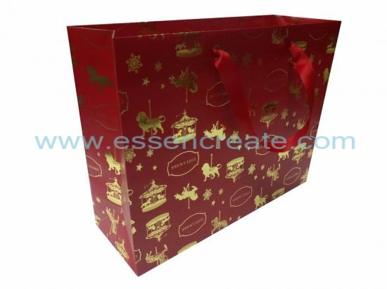 Christmas Gift Luxury Paper Bags